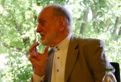 Kurt Masur 2009. Foto: Ralf Julke