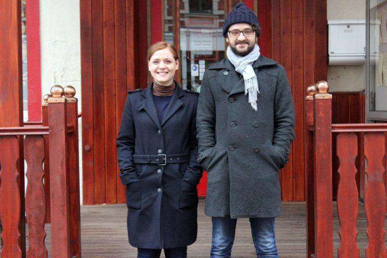 Tanners Interview mit dem Organisatoren von Music with Friends, Franziska und Jörg