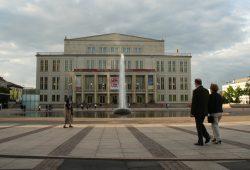 Opernhaus am Augustusplatz. Foto: Ralf Julke