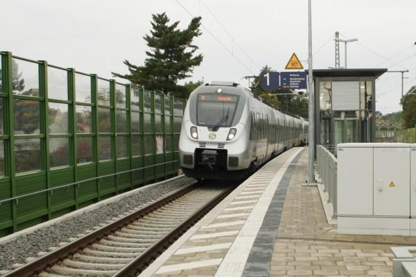 Eine gute S-Bahn-Anbindung ist ein echter Wettbewerbsvorteil. Foto: Ralf Julke