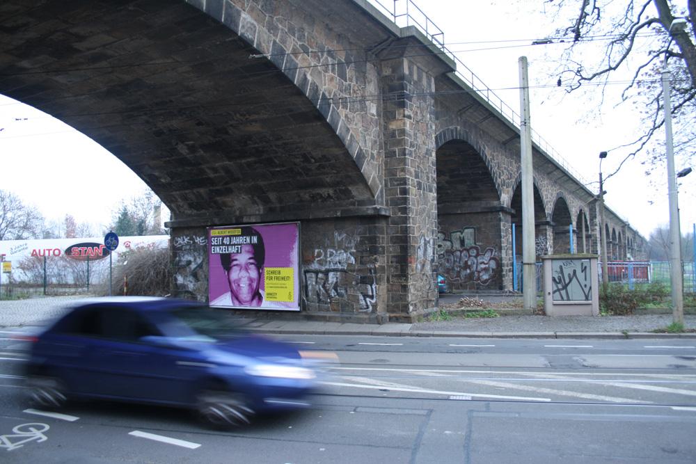 Der Sellerhäuser Bogen an der Wurzner Straße. Foto: Ralf Julke