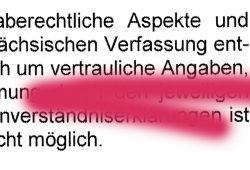 Bei Ausreden erfinden beim Fragen-nicht-Beantworten ist Sachsens Innenminister erfinderisch. Screenshot: L-IZ