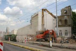Abriss 2005 in Leipzig. Foto: Ralf Julke