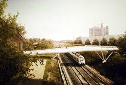 Der Entwurf von Ingenieurbüro KHP Kolb Ripke Architekten von Norden. Repro: L-IZ