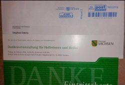 Offenbar echt - die Einladung an Siegfried Däbritz. Screenshot Facebook-Profil von Däbritz