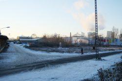 Blick von der Delitzscher Straße über das Gelände. Foto: Ralf Julke
