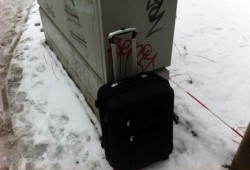 Lässt schnell die Sympathiewerte sinken – unbeaufsichtigtes Gepäck. Foto: L-IZ.de