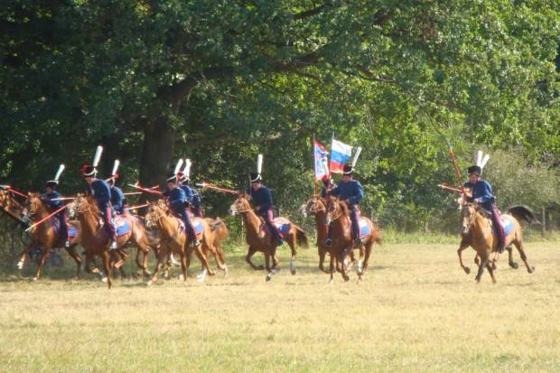 2012 gastierten russische Kosaken auf dem Gelände von Schlobachs Hof. Foto: Gernot Borriss