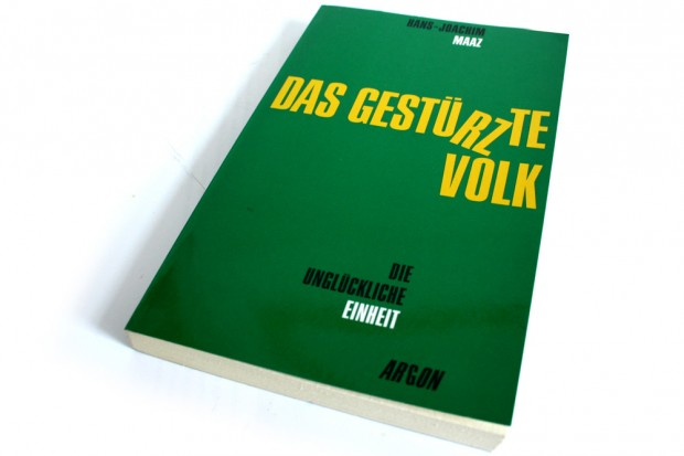 Hans-Joachim Maaz: Das gestürzte Volk. Foto: Ralf Julke
