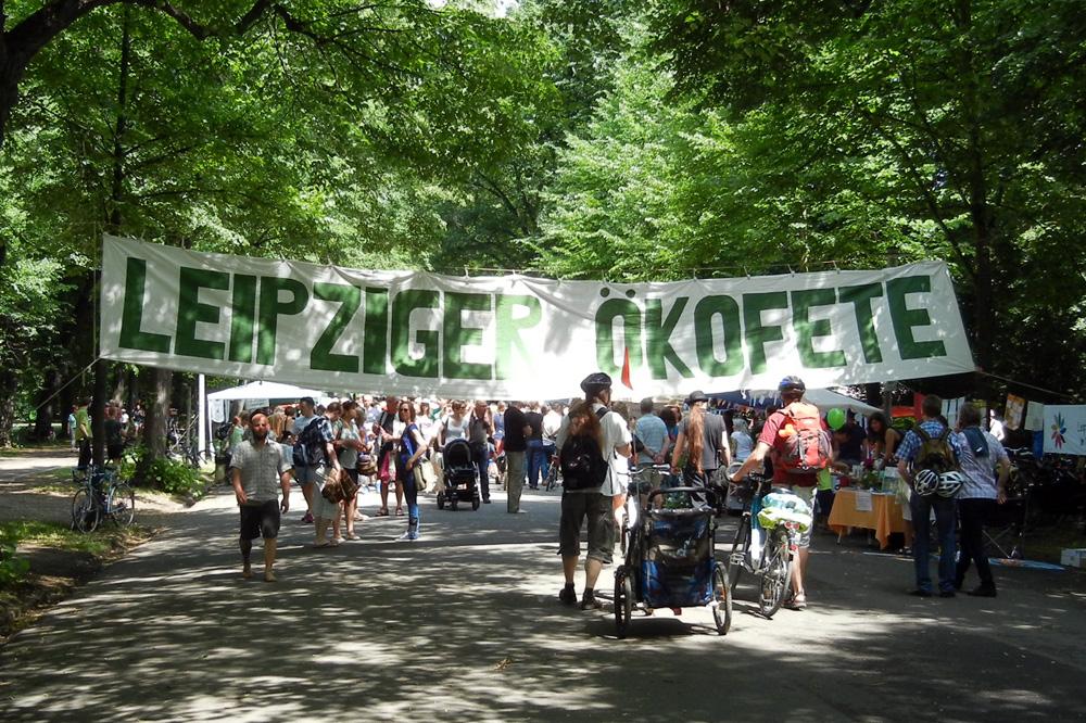 Ökofete 2015 des Ökolöwe - Umweltbund Leipzig e.V.. Foto: Ökolöwe