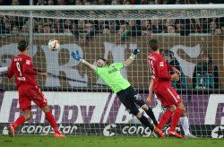 Trotz Torschussübergewicht für RB Leipzig wollte der Ausgleich nicht klappen. Foto: GEPA Pictures