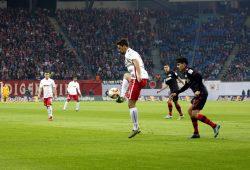 In der ersten Halbzeit erspielten sich die Leipziger immer wieder Chancen. Foto: Alexander Böhm