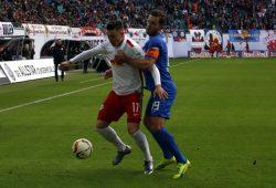 Die Eintracht ließ in der 2. Halbzeit keine Tore mehr zu. Foto: Alexander Böhm