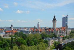 Die Leipziger Skyline. Foto: Andreas Schmidt / LTM
