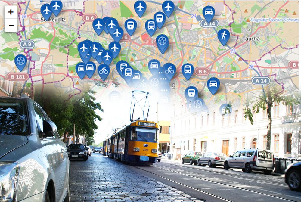 Die Vorschläge zu einer anderen Verkehrspolitik in Leipzig mehren sich. Montage: L-IZ