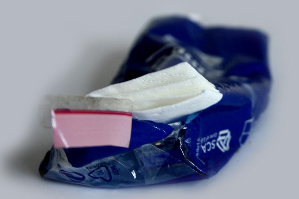 Taschentücher, noch unbedruckt. Foto: L-IZ