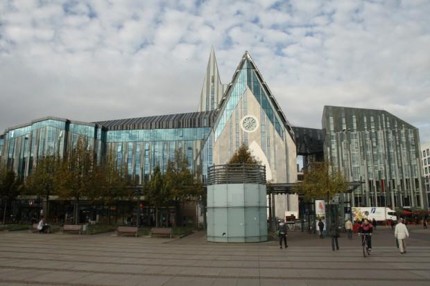 Hauptgebäude der Uni Leipzig am Augustusplatz. Foto: Ralf Julke