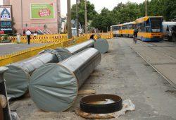 Arbeiten am Wassernetz in der Karl-Liebknecht-Straße. Archivfoto: Ralf Julke