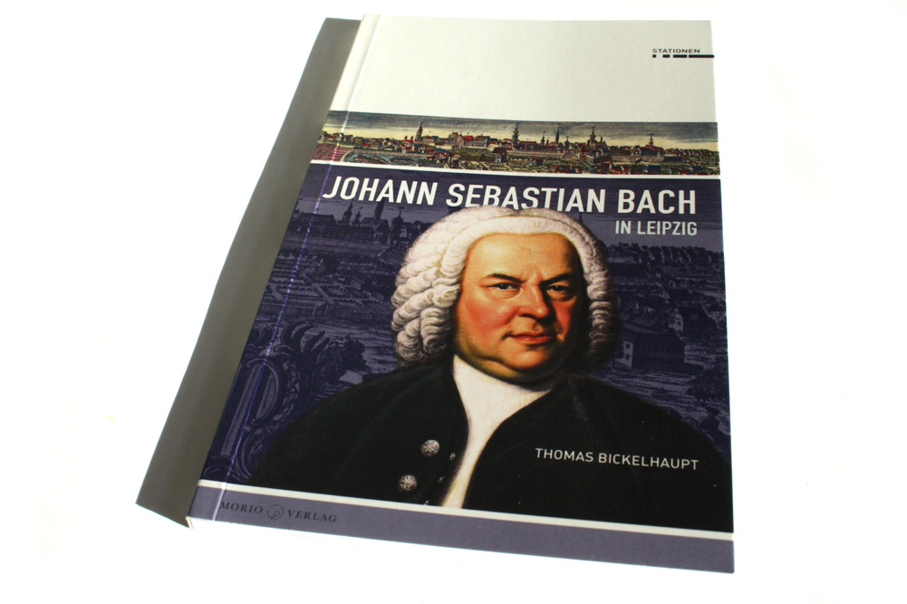 Thomas Bickelhaupt: Johann Sebastian Bach in Leipzig. Foto: Ralf Julke