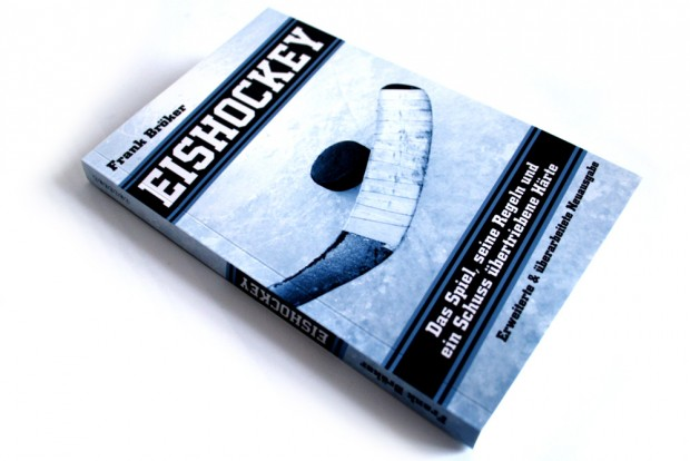 Frank Bröker: Eishockey. Foto: Ralf Julke