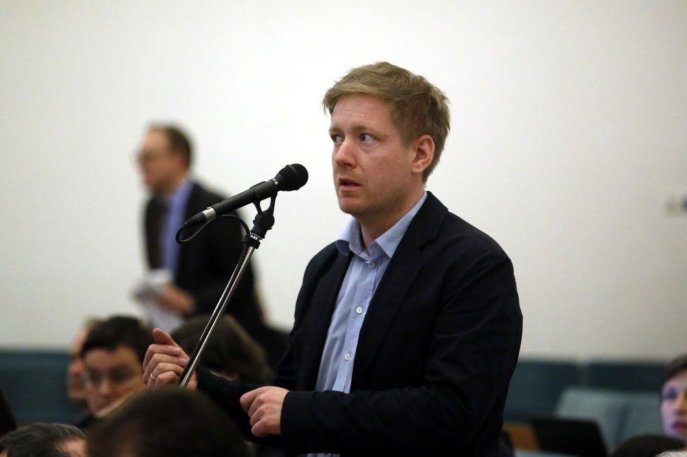 Stadtrat Daniel von der Heide (Grüne). Foto: Alexander Böhm