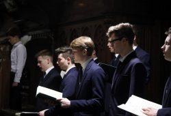 Die Matthäus-Passion gesungen vom Thomanerchor. Foto: Alexander Böhm