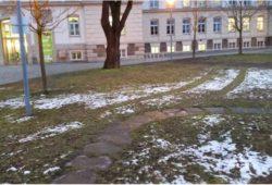 Ein Bild von der Rasenfahrt des MDR-Mitarbeiters. Foto: Uwe Walther