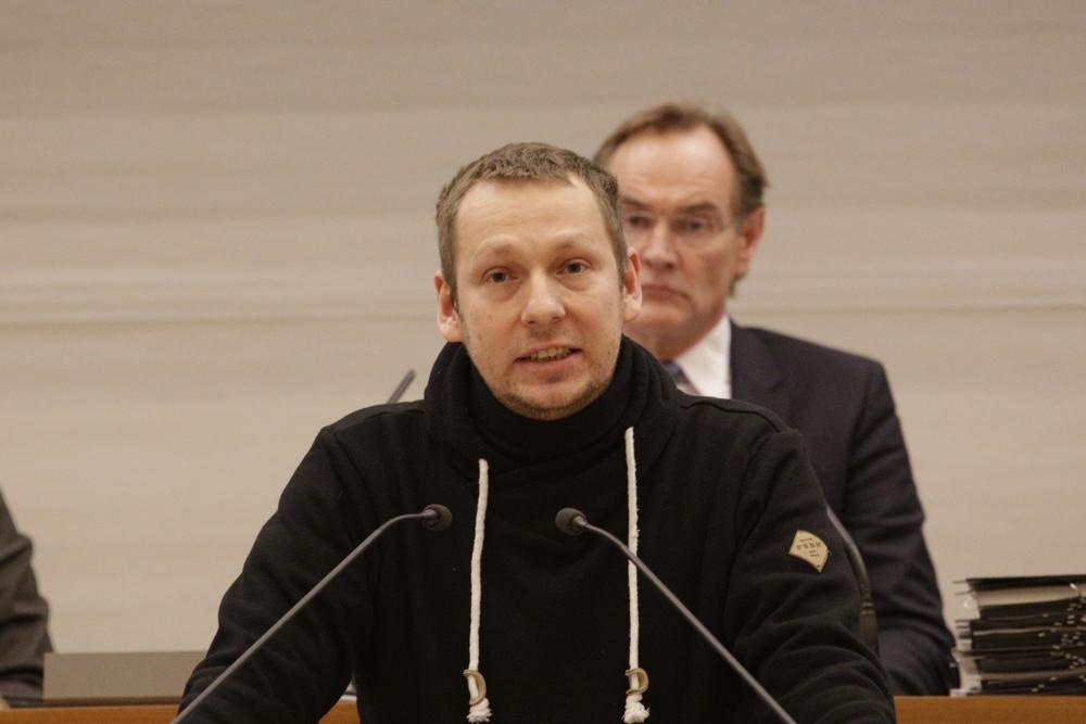 Wie lange wird Enrico Böhm (NPD) noch ein Stadtrat bleiben? Foto: Alexander Böhm