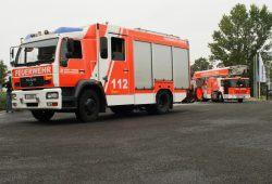 Fahrzeuge der Leipziger Feuerwehr. Foto: Ralf Julke