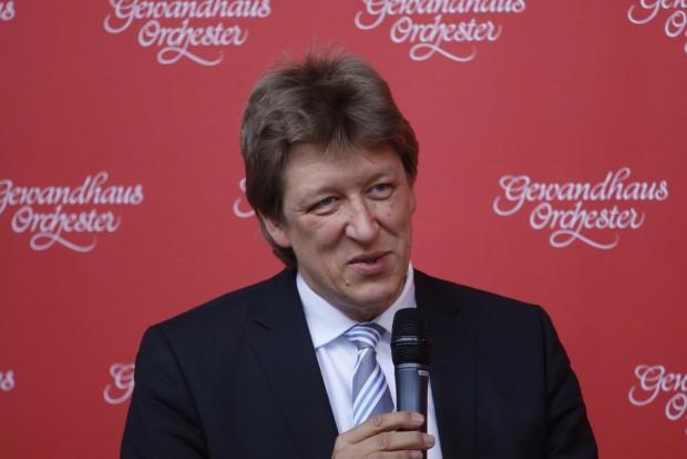 Gewandhausdirektor Andreas Schulz. Foto: Alexander Böhm