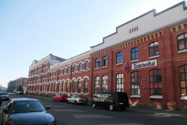 Auch das gehört zur Denkmalskultur: Saniertes Fabrikgebäude Gewerbepark Plagwitz. Foto: Marko Hofmann