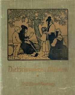 Schatz aus Uromas Kindertagen: Die Grimmschen Märchen. Foto: Karsten Pietsch