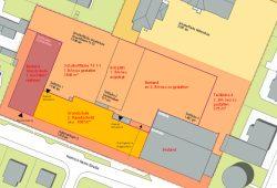 Der geplante Neubau an der Heinrich-Heine-Straße. Karte: Stadt Leipzig / LESG