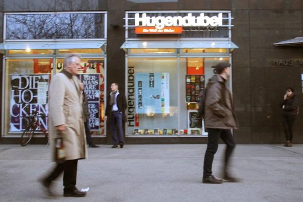 Lothar-Reher-Spezial-Schaufenster bei Hugendubel an der Thomaswiese. Foto: Ralf Julke