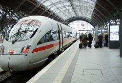 ICE im Hauptbahnhof Leipzig. Foto: Ralf Julke