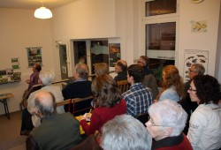 Martina Hoffmann (NABU Merseburg-Querfurt) zeigte die Wildbettluppe in Sachsen-Anhalt. Foto: NABU Sachsen