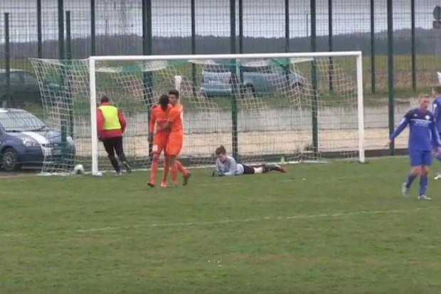 Elfmeter-Tor: Bocar Djumo erzielte in der 67. Minute den Treffer zum 3:1 für Inter. Quelle: HFM-TV