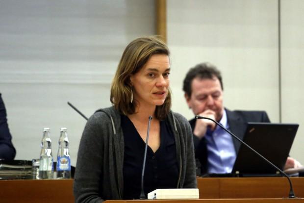 Juliane Nagel (Linke). Foto: Alexander Böhm