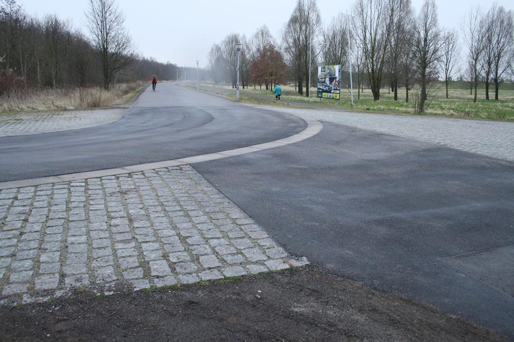 Kurve der Kelchsteinlinie nach dem Umbau. Foto: Ralf Julke