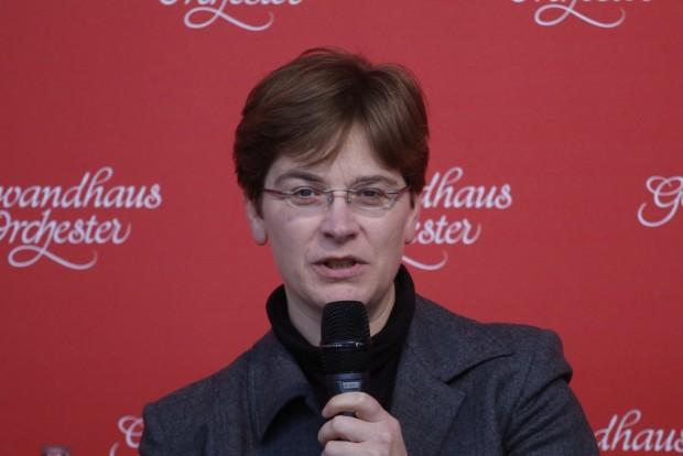Konzertbüroleiterin Sonja Epping. Foto: Alexander Böhm