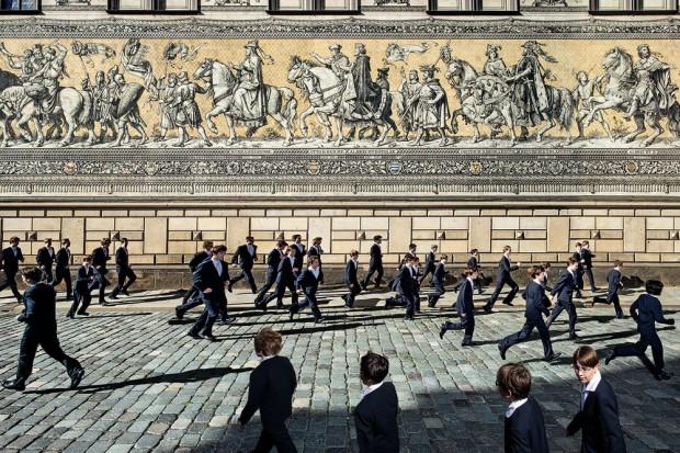 800 Jahre Dresdner Kreuzchor - Eine Abschiedssymphonie der besonderen Art. Foto: Matthias Krueger