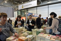 An den ersten beiden Messetagen kamen 75.000 Besucher (2015: 71.000) zur Leipziger Buchmesse. Foto: Leipziger Messe