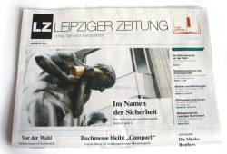 """Die März-Ausgabe der """"Leipziger Zeitung"""". Foto: Ralf Julke"""
