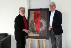 Matthias Klemm und Dr. Volker Rodekamp. Foto: Stadt Leipzig