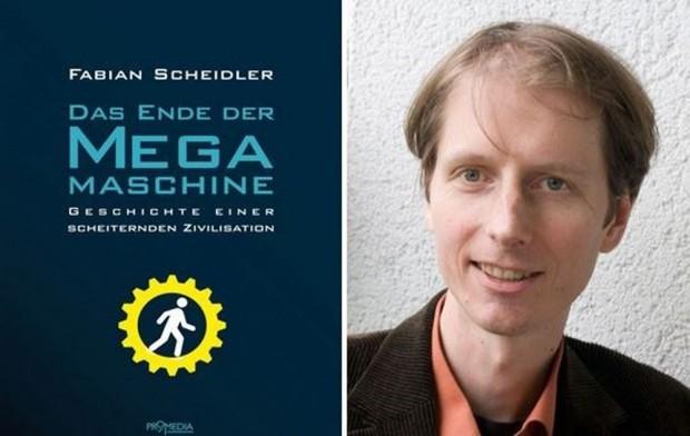 Fabian Scheidler: Das Ende der Mega-Maschine. Foto: Promedia / KontextTV
