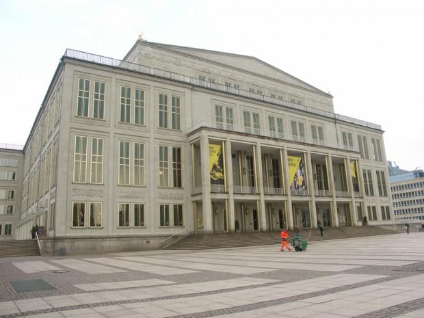 Leipzigs Opernhaus. Foto: Karsten Pietsch