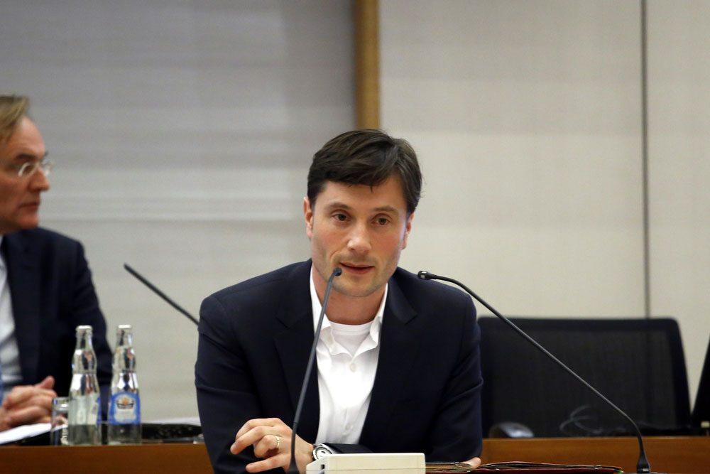 Ordnungsbürgermeister Heiko Rosenthal (Linke). Foto: Alexander Böhm