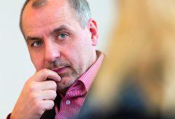 Rico Gebhardt, Fraktionsführer Die Linke im Landtag Sachsen. Foto: DiG/Trialon