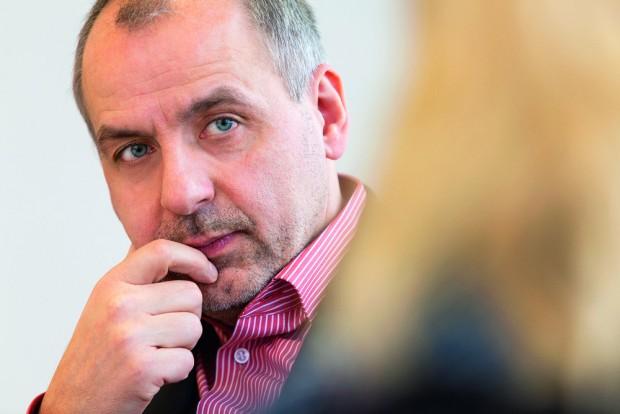 Rico Gebhardt, Fraktionsvorsitzender Die Linke im Landtag Sachsen. Foto: DiG/Trialon