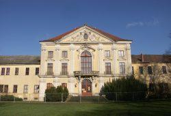 Schönwölkau: Einst Rittergut, dann Barockschloss, Volkseigenes Gut und Kulturhaus. Foto: Karsten Pietsch